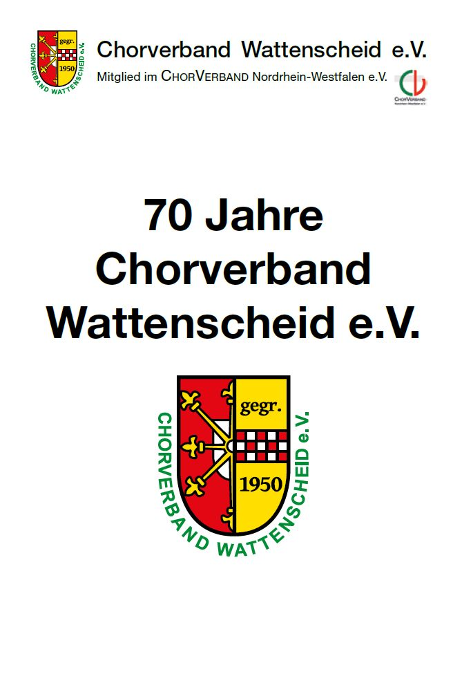 Flyer Chorverband Wattenscheid